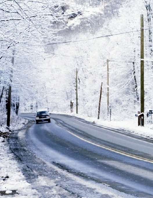 Sichere Fahrt trotz Eis und Schnee