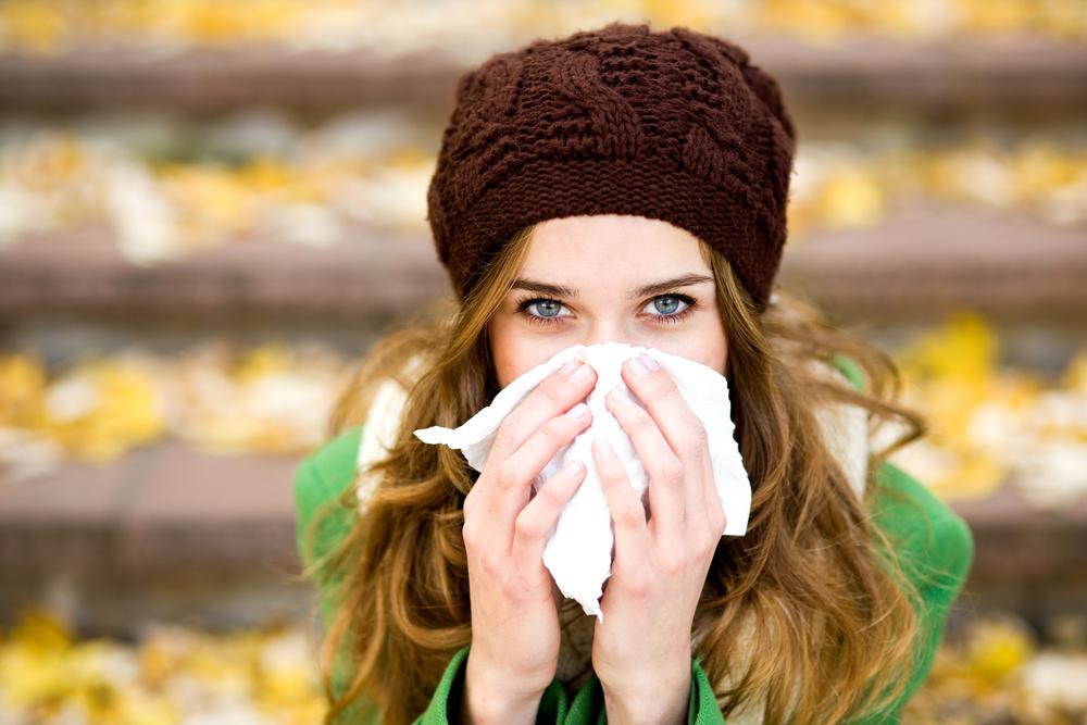 In der kalten Jahreszeit steigt die Gefahr einer Erkältung oder Grippe.