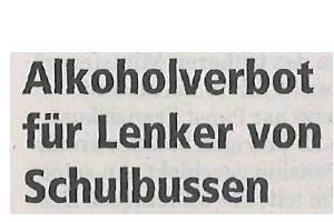 Salzburger Nachrichten über Schulweg-Unfälle und Versichern24
