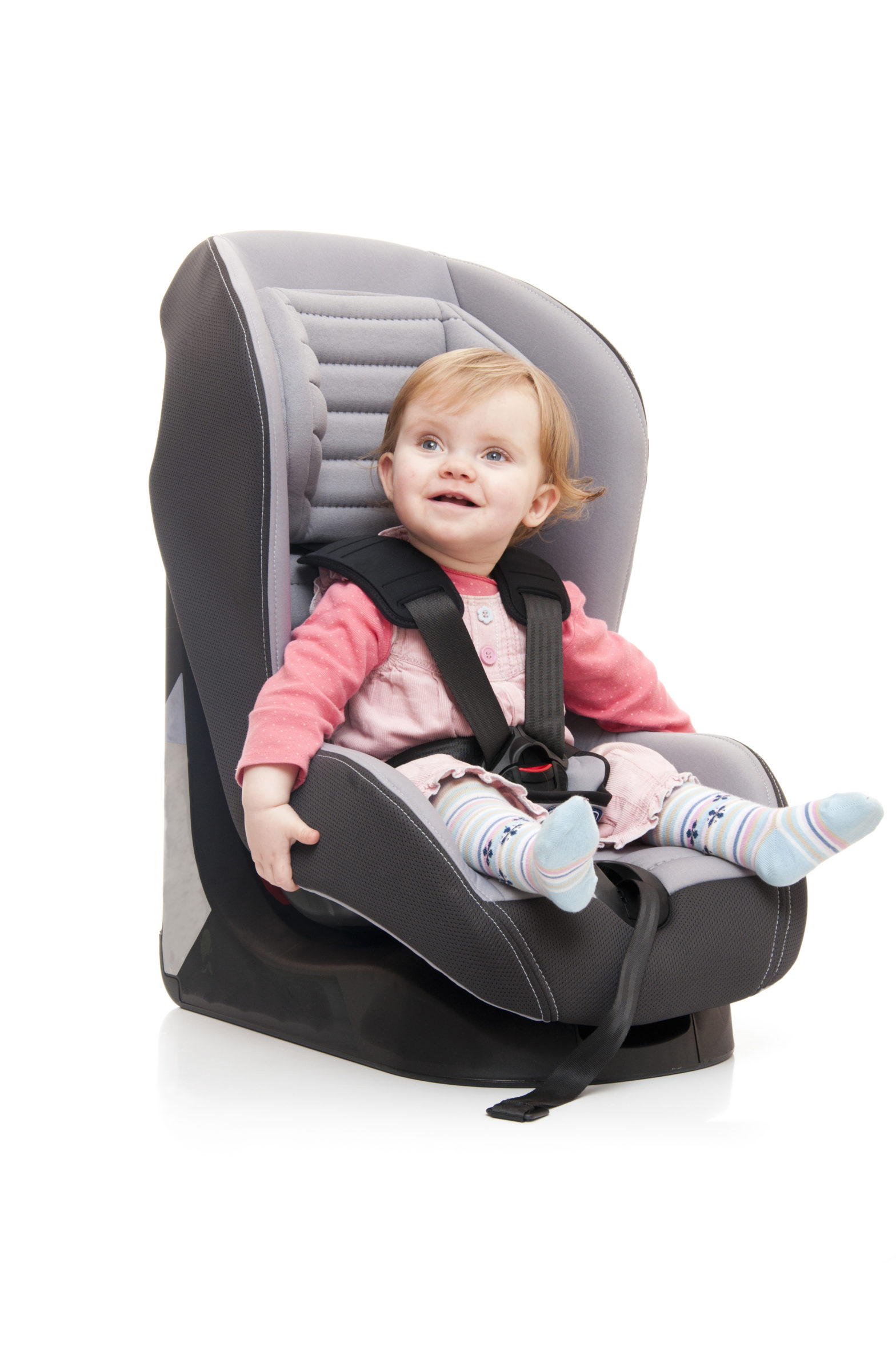 Kindersitze sollten immer an das Alter bzw. die Größe des Kindes angepasst werden.