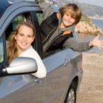 Warnweste im Auto